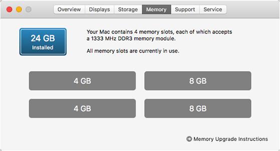 nadogradnja ram memorije za apple