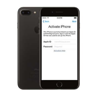 iPhone iCloud podrška.